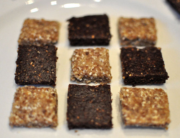 No Bake Bars (Sweetened by Dates)